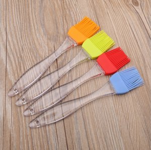 Wholesale Silicone Baking Brushes Oil BBQ Brush Bread Cook Brushes Baking Bakeware BBQ Cake Cooking Basting Tool Kitchen Accessories Colors YW1970