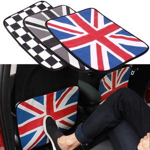 PU Car Auto Seat Back Cover Anti-kick Anti Dirty Pads Mat for Mini Cooper JCW One Car Accessories