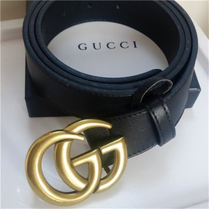 designer belts designer belt luxury belt mens designer belts women belt big gold buckle snake black leather classic belts with box 89718002 on Sale