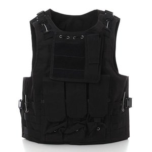 Wholesale Outdoor Tactical Military Airsoft Paintball CS Games Vest Combat Waistcoat Assault Hunting Travel Vest