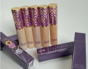 Real high quality Shape Tape contour Concealer concealer 5 colors Fair Light Light-medium Medium Light sand 10ml liquid foundation