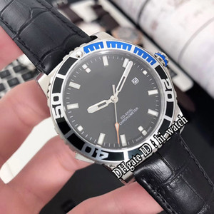 Wholesale New Dive Retro Patravi Proto Scubatec G32 XC Dolphin Blue Black Bezel Black Dial Miyota Automatic Mens Watch Leather Watches g28
