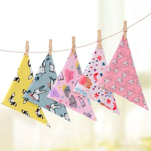 Wholesale new saliva towel cotton baby Bibs & Burp Cloths triangle towel newborn baby triangle saliva towel children bib