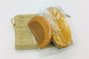 Wholesale Hair Combs Storage Bag Men Moustache Cream Beard Oil Kit with Moustache Bread Comb Brush Storage Bag Shaving Cream