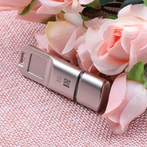 Wholesale USB3 Metal Fingerprint Encryption U Disk USB Flash Drive Data Security Protection Device for Business Office Use