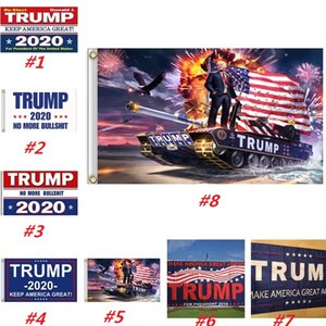 Wholesale New Trump Flag cm Donald Trump flags Keep America Great Digital Print USA Banner Flags Styles