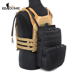 Wholesale Hydration Pouch Modular Webbing Molle For 3l Water Bladder Durable Pouch Attached To Tactical Vest Hydration Backpack Tas Xa112d