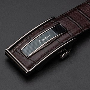 Wholesale Ciartuar Leather Belt Automatic Buckle Belts for Mens Cow Genuine Leather Men Designer Belt High Quality Fashion Strap Luxury