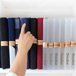Clothes Folder, T Shirt Folder Closet Foldable Storage Organizer DressBook T Shirt Folding Board Quick and Easy Suit for Any Home Adult and