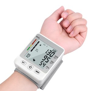 CE  FDA Approved Automatic Wrist Blood Pressure Monitor Digital Wrist Blood Pressure Meter Tonometer Sphygmomanometer Tensiometro on Sale