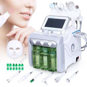 Wholesale 6 in1 Hydro Water Diamond Dermabrasion RF Ultrasonic Sprayer Machine For Beauty Spa Use Skin Care