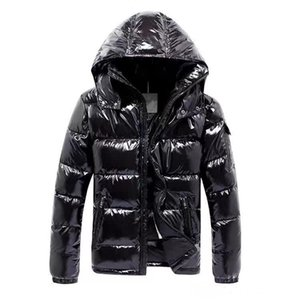 Jackets Mens Designer Coat Hooded Autumn Winter Windbreaker Coat Down Thick Luxury Hoodie Outwear Luminous Jackets Asian Size Men's Clothing