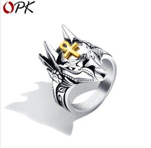 Cross Titanium Ring Individual Claw Tidal Ring Hand Jewelry on Sale