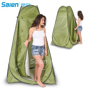 Wholesale Pop Up Privacy Tent Instant Portable Outdoor Shower Tent Camp Toilet Changing Room Rain Shelter w Window for Beach Easy Set Up Fold