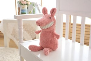 Wholesale 20180520 Plush toys cute Smile big teeth doll birthday gift for children 30cm calm doll pig