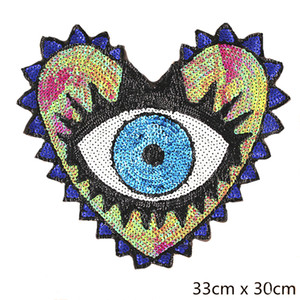 Wholesale DIY Sewing Supplies Iron On Patch Applique Clothes Dress Hat Jeans Punk Rock Patch Decorative Heated Sweater