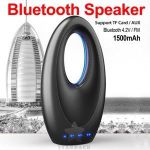 Wholesale Artistic Hotel style Bluetooth Speaker Portable Wireless Stereo Speakers Handsfree for Audio MP3 Player Subwoofer with with Retail Package