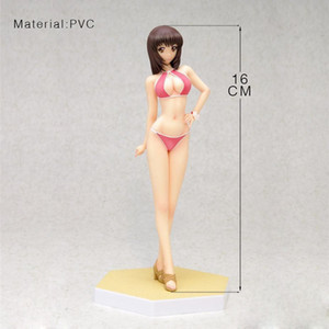 Wholesale Asuka Sugo Swimsuit Japanese Anime Figures Action Toy Figures Model Collection Adult Doll Brand New