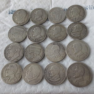 Germany Commemorative Coins 1933 -1960 different date 39pcs Copy Coins Brass Craft Ornaments