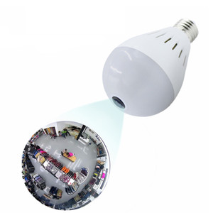 Hot sale AQ-02 panoramic universal multifunction bulb wireless camera mobile phone HD 2 million pixel white light bulb on Sale