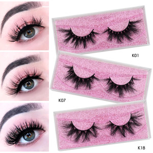 Wholesale siberian mink eyelashes resale online - Ups Free cruelty free d d d siberian mink fur eyelashes mm mm mm mm mm long mink eyelashes with storage lashes box