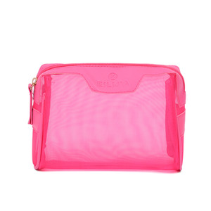 seda rastreada venda por atacado-Designer Handbag Multifuncional Bag Cosmetic Bag Plain Lovely Fashion Tela Personalidade Silk PU Carta oco Out Mulheres Bag