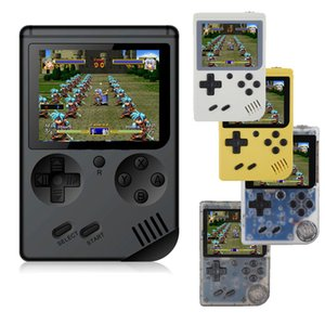 Wholesale Video Games Consoles Mini Portable Handheld Game Console Player Inch LCD Screen FC Pocket Game Console Bulit in Games