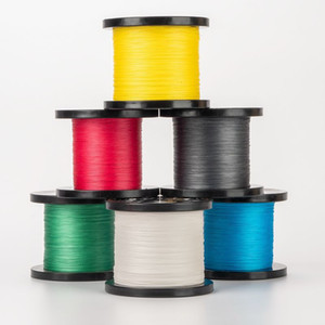 Wholesale river floats resale online - 1000M Strands LB Braided Fishing Line PE multifilamen Braided Lines Lake River Fishing wire Smoother Floating Line