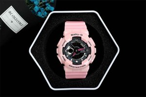 Wholesale 2019 Fashion Arrival Mens G Style Military Wristwatches Multifunction LED Digital Shock Quartz Sport Watches for Man Male Students Clock