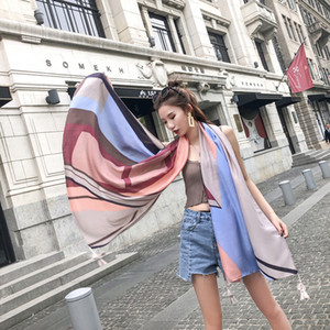 Wholesale 180x100cm cotton beach Shawl for adults big size Towel with Tassel Geometric elements Bikini Covers scarf
