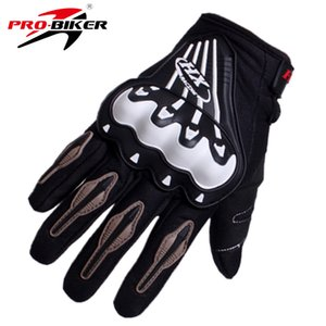 Wholesale 2016 Professional High Quality Auto Racing Gloves Motorcycle Protect Hands Full Finger Breathe Patchwork Flexible Glove