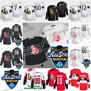 10 Anthony Duclair 2020 All Star Ottawa Senators Connor Brown Brady Tkachuk Thomas Chabot Jean-Gabriel Pageau Mark Borowiecki Jersey