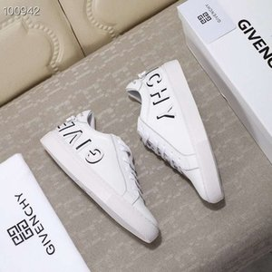 Wholesale 19ss brand GIV leather men women casual shoes letter Little monsters men Designer men shoes genuine leather fashion Mixed color with box