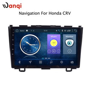 Wholesale 9 inch factory android car dvd player For Honda CRV with audio radio multimedia gps navigation system