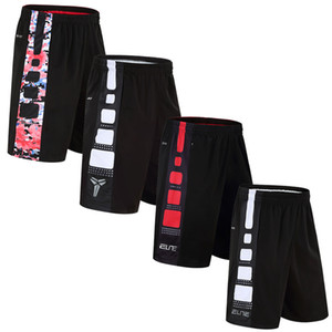 Wholesale Sports Shorts Quick drying Running Fitness Loose Male Five Pants Basketball Over The Knee Large Size M XL