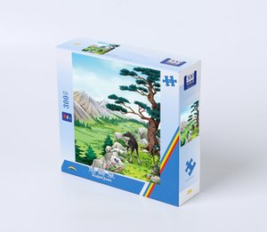 Blank Puzzle for Horses and Pines XU JING QUAN Puzzle Large 300 PCS Child Toys Gift Customer Made