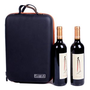 Wholesale 2019 New Arrival Wine Bottle Freezer Bag Chilling Cooler Ice Bag Beer Cooling EVA Holder Carrier Portable Shockproof Wine Bags