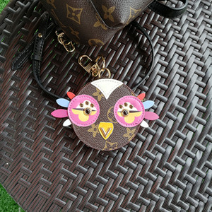 Wholesale 2019 fashion pu leather Love Bird Key Chains Alloy Keychain Animal Jewelry For Women Girls Bag Car Charms Key Chains Gift Pet G30T