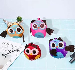 Wholesale owl shaped bags for sale - Group buy DHL Cute Women Animal Owl Shaped Folding Shopping Bag Eco Friendly Reusable Tote Bag