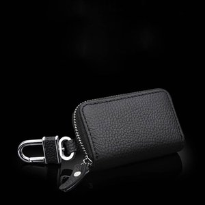 Wholesale Fashion Simple Wallet Car Key Card Bag Storage Bag Key Ring Zipper Protection Wallet