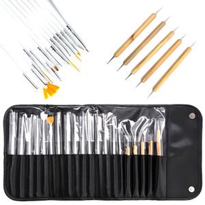 Dual-ended Dotting Pen Rhinestone Studs Pencil Crystal Beads Handle Nail Brush Painting Pen Nail Art Tool