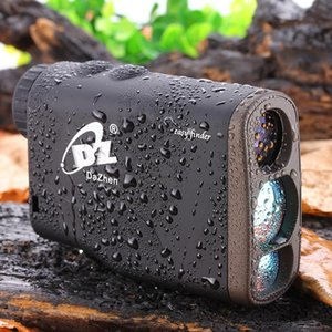 Wholesale 1000M Waterproof Golf Laser range finder Handheld Distance Meter Speed Range finders with Flagpole Lock Function Monoculars