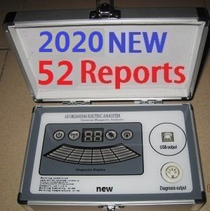 2020 New 6th Generation 52 Comparative Reports with 6-core Quantum Magnetic Resonance Analyzer ver4.8.0 DHL Free Ship in Real Version