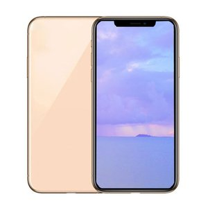 5.8inch Goophone XS Quad Core MTK6580 Face ID Smartphones 1G 8G Show Fake 4G 256G 4G lte Unlocked Phone