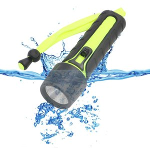 Wholesale New Pattern Led Major Diving Light Flashlight Aa Outdoors Waterproof Lighting Flashlight Web Diving Lamp