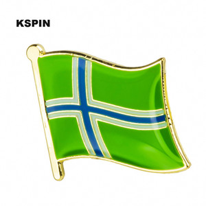 Wholesale SOUTH ULST Badges Flag Badge Flag Lapal Pin On Backpack Pins For Clothes XY0423