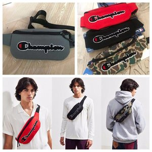 Wholesale 4 Colors Embroidery Waist Bags Canvas Belt Waist Bag Unisex Cross Body Chest Bag Travel Shopping Money Bag CCA11614