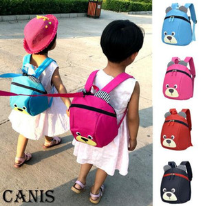 Wholesale Cartoon Baby Toddler Kids Safety Harness Strap Bag Walking Backpack With Reins