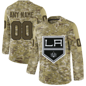 Wholesale Mens Los Angeles Kings Anze Kopitar Dustin Brown Drew Doughty Kyle Clifford Jack Campbell Jonathan Quick Hockey Jersey