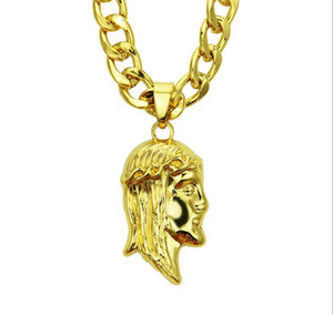 Wholesale hip pop jewelry resale online - European and American hip hop pop fashion trend personality three dimensional figure boutique Pendant Necklace men s fashion jewelry